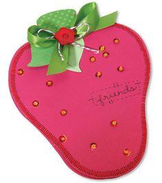 birthday invite idea for strawberry shortcake party