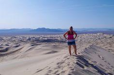 Lara Kobelt at Kelso Dunes Wilderness, California
