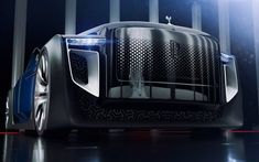 The Rolls-Royce Exterion concept inspired by wonderful world of Syd Mead illustrations. Rolls-Royce Exterion concept, is ultimate luxury vehicle for the… Rolls Royce Concept, Supercars, Rolls Royce Cars, Futuristic Cars, Transportation Design, Electric Cars, Electric Vehicle, Automotive Design, Amazing Cars