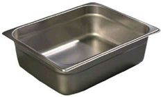 American Metalcraft Half Size Pan for 5 Quart Allegro Half Size Chafer >>> To view further for this item, visit the image link. Stainless Steel Pans, Stainless Steel Material, Carlisle, Specialty Cookware, American Metalcraft, Food Handling, Chafing Dishes, Food Service Equipment