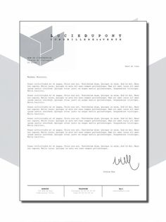 professional cover letter curriculum vitae cv lettre de motivation design par 1547