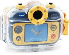 vtech action cam, zou waterdicht zijn maar in praktijk niet echt