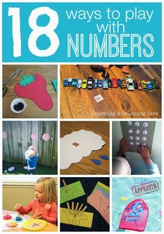 Toddler Approved!: 18 Ways to Play with Numbers