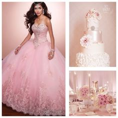 Pink Theme Color | Quinceanera Ideas |