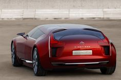 Citroen C-Metisse, Future Car, Supercar, Futuristic Car, Luxury Car, Coupe, Red Car, Concept Car