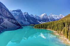 Turquoise splendor Moraine Lake in Banff National Park, Alberta, Canada Prints: http://pixels.com/featured/turquoise-splendor-moraine-lake-pierre-leclerc-photography.html