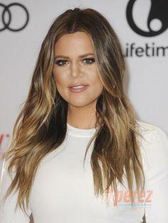 Khloe Kardashian - Hair Colour