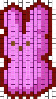 Marshmallow Bunny, Kandi Patterns, Photo Pattern, Different Patterns, Bunnies, Peeps, Rabbit, Bunny