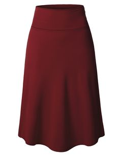 This lightweight flared midi skater skirt with stretch is made of a soft, breathable . Business Professional Outfits, Business Outfits Women, Business Attire, Business Chic, Chic Fall Fashion, Work Fashion, Fashion Outfits, Midi Skater Skirt, Work Attire Women