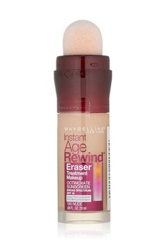 Shop for Maybelline New York Instant Age Rewind Eraser Treatment Makeup, Buff Beige oz. Get free delivery On EVERYTHING* Overstock - Your Online Beauty Products Destination! Best Foundation, No Foundation Makeup, Foundation Colors, Drugstore Foundation, Makeup Tricks, Drugstore Makeup, Makeup Ideas, Drugstore Contouring, Makeup Brands