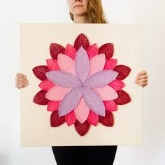 Mandala lotosový kvet 60 x 60 Mandala, Mandalas