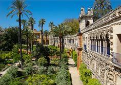 Palácio Real Alcázar, Sevilha, Espanha.