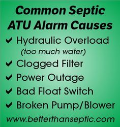 There are many reasons why your septic alarm is on - whatever you do, don't ignore the problem and hope it goes away!  (844) 224-2782