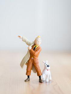 Tintin and Snowy @Hannah McManus
