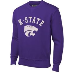 School Spirit Sweatshirt Raglan Kansas State University March Basketball Mens Pullover Hoodie