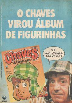 Álbum de figurinhas Chaves (1990)