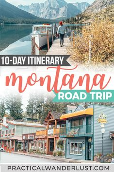 The Ultimate Montana Road Trip: Detailed Itinerary - The perfect Montana road trip itinerary! This Montana road trip includes Missoula, Whitefish, Glacier National Park, and Flathead Lake all in one epic Montana itinerary. Oh, and llamas. Places To Travel, Travel Destinations, Places To Go, Road Trip Usa, Usa Roadtrip, Flathead Lake Montana, Wyoming, Idaho, Viajes