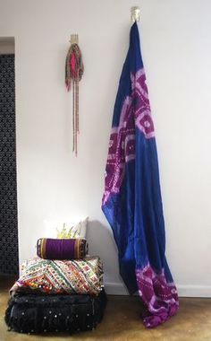 Use this stunning tribal fabric to create some African style!  Use for curtains, canopies, table clothes, throws on beds, etc.  Hand dyed in Mauritania. Available at the Maryam Montague online Souk!  http://www.mmontague.com/textiles-1/hand-dyed-tribal-fabric-2