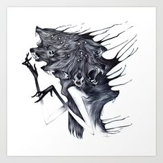 Buy A Forest's Darkness by Natalie Hall as a high quality Art Print. Worldwide shipping available at Society6.com. Just one of millions of products available.