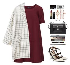 """""""Untitled #124"""" by fikann ❤ liked on Polyvore featuring Manon Baptiste, Monki, Valentino, Balenciaga, Lipsy, Anne Klein and Bobbi Brown Cosmetics"""