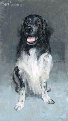 #Stabyhoun ~ Schilder: Pieter Pander uit Franeker (2004)   Schilderijen & tekeningen - Fotogallery NVSW