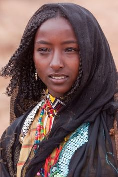 beautiful girl. ethiopia.