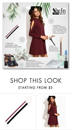 """Shein 4"" by amra-f ❤ liked on Polyvore featuring MAC Cosmetics, Dyson and shein"