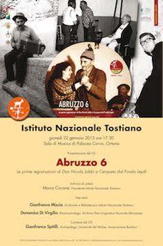 """A Ortona la presentazione del CD """"Abruzzo 6"""" - Attualità - Primo Piano"""