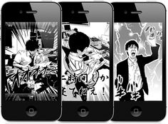 iPhone App Turns Your Photos Into Japanese Comics - DesignTAXI.com