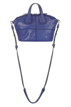Givenchy Micro Nightingale bag in blue leather | NET-A-PORTER