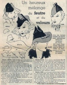 New sewing box vintage tutorials 55 Ideas Looks Vintage, Vintage Diy, Vintage Hats, Vintage Sewing Patterns, Doll Patterns, 1930s Hats, 1920s, Vintage Accessoires, Hat Day