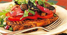 Steak s houbami Steak, Steaks, Beef