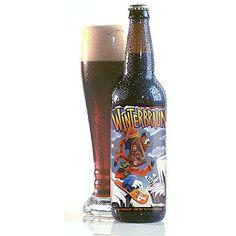 Cerveja Lost Coast Winterbraun, estilo American Brown Ale, produzida por Lost Coast Brewery & Cafe, Estados Unidos. 8% ABV de álcool.