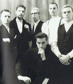 A rather dapper looking group of men I'd say!