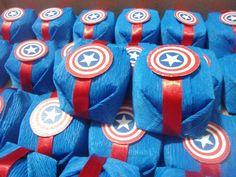 FESTA CAPITÃO AMÉRICA...AVENGERS PARTY...CAPTAIN AMERICA BIRTHDAY PARTY IDEAS.34