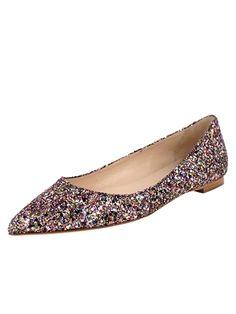Butter Shoes Pointer Glitter Flat
