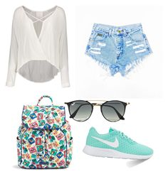 Untitled #2 by mv2722 on Polyvore featuring polyvore fashion style NIKE Vera Bradley Ray-Ban clothing