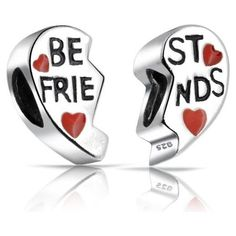 Best Friends Pandora Charms