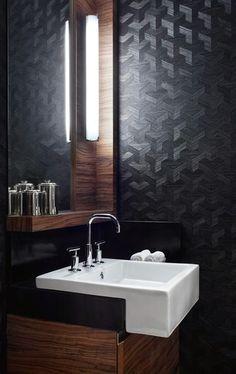Jurnal de design interior - Amenajări interioare : Cele mai frumoase interioare amenajate în negru