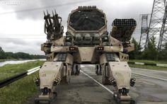 M130 Abrams, 108th Air Defense Artillery Brigade by Amin Akhshi   Robotic/Cyborg   3D   CGSociety