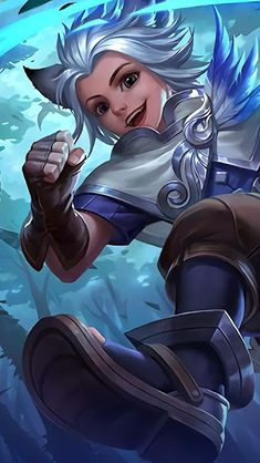 Wallpaper Harith Time Traveler Skin Mobile Legends HD for Android and iOS Bang Bang, Game Character, Character Design, Miya Mobile Legends, Alucard Mobile Legends, The Legend Of Heroes, Mobile Legend Wallpaper, Naruto Wallpaper, 3840x2160 Wallpaper