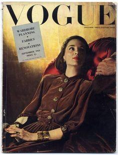 Vogue UK --- September 1944. John Rawlings.
