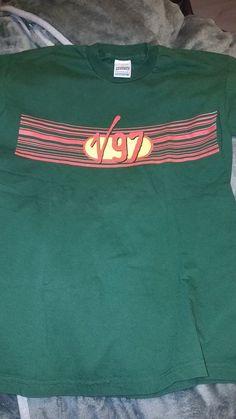 88816e21 Vintage V97 Music Festival T-shirt Virgin UK Blur Prodigy Beck Daft Punk  size L