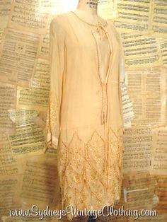 Vintage 20's Flapper Dress