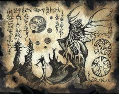 TITANS de XOTH cthulhu larp Necronomicon Fragment magick occulte
