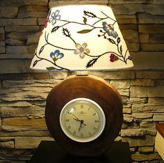 Wood / Lampa Vintage