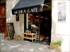 Molika cafe, Barcelona.