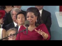 Oprah Winfrey Harvard Commencement Speech - 2013 - Full Footage As always, she reminds us all of what is truly important. And makes me cry.