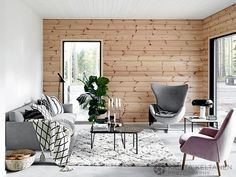 Ingenious Funky Home Decor Examples Creative to amazing arrangements to organize a incredibly charming funky home decor interior design living rooms The incredible Ideas imagined on this wonderful day think cap reference 9976865507 Modern Wooden House, Scandinavian Style Home, Scandinavian Living, Gravity Home, Funky Home Decor, Cottage Interiors, Style Vintage, Wabi Sabi, Living Room Designs