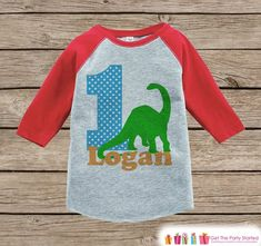 This adorable onepiece is perfect for your child's first birthday party! It is just waiting to be worn by the little one in your life! - Please include the name and age you would like in the Notes to